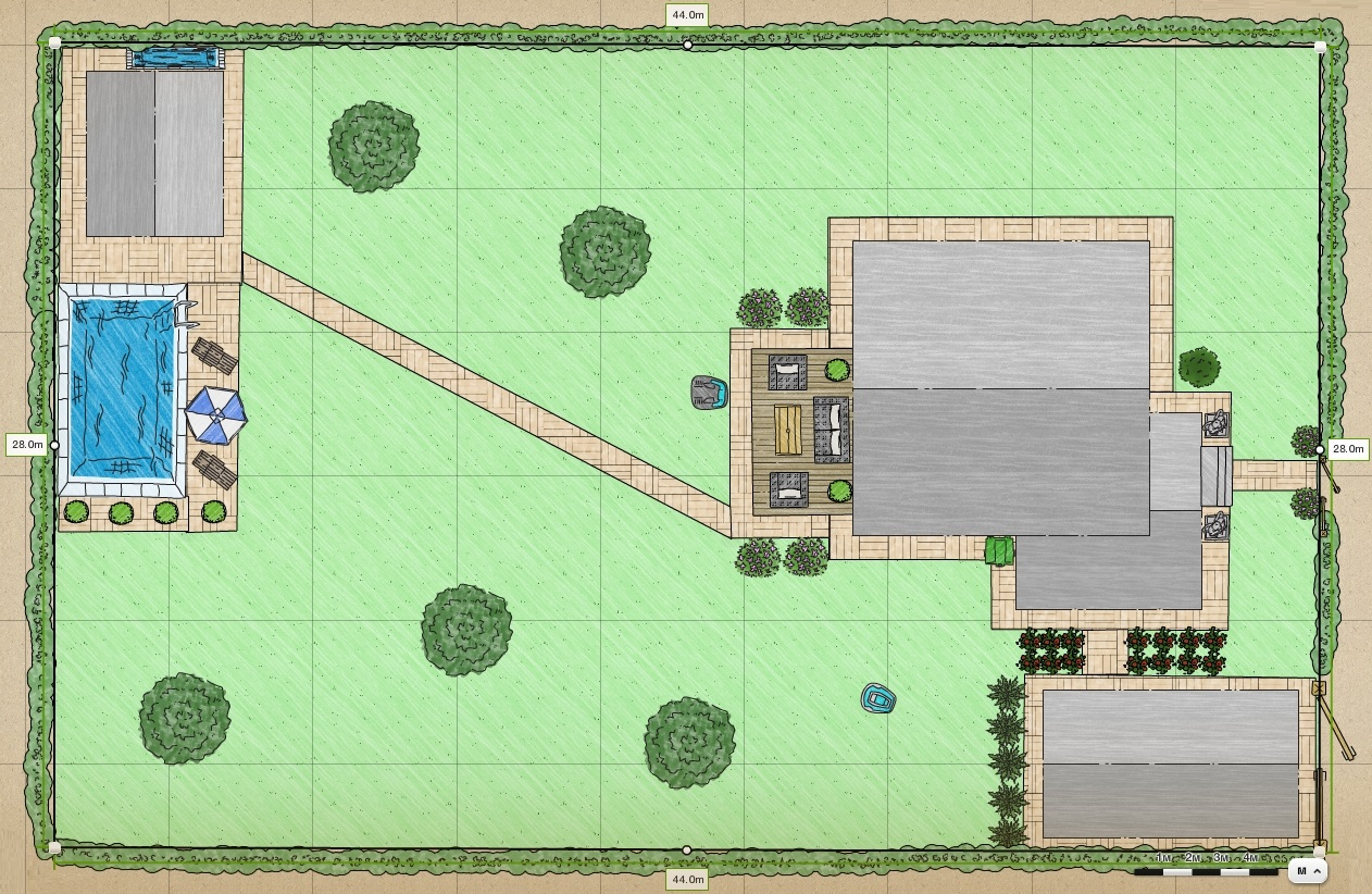 План участка - пример 4