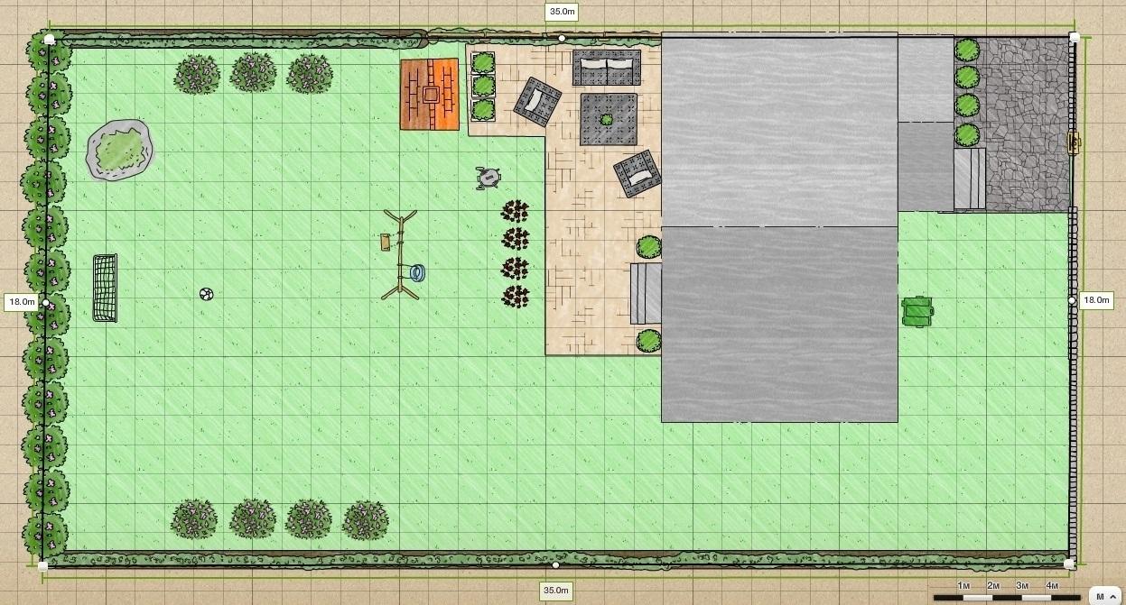 План участка - пример 1