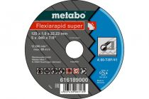 Отрезной круг Metabo 125х1,0х22,23мм Flexiamant Super А 60-Т прямой  616189000