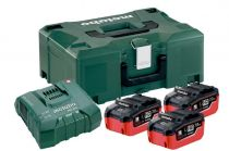 Базовый комплект Metabo 18 В LiHD 3х7,0Ач + ЗУ ASC ULTRA AIR COOLED + Metaloc  685110000